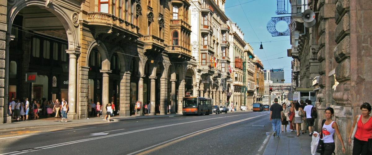 AccademiaVino Genova via XX Settembre